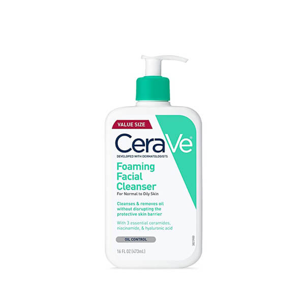 cerave foaming facial cleanser review